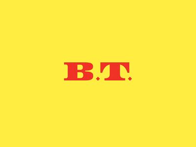B.T. typography