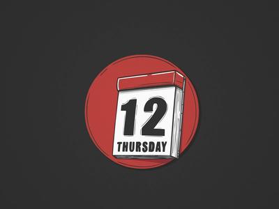 Friday 13th knife calendar