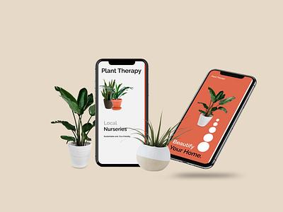 Plant Therapy Mobile UI Design uiux ui design
