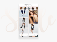 ScopeStyle App   home