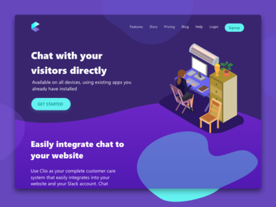 Clio - Support chat messenger
