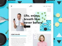 Healthy Startup Idea - Chaotic design trend