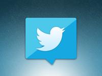 New Twitter (Logo) -- Icon