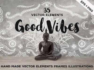 Hand Sketched Vector Elements