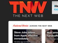 Teaser of upcoming TNW design refresh