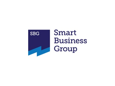 Smart Business Group smart business consulting management levogrin branding logo
