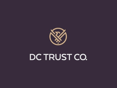 Dc Trust Co logo branding levogrin dc trust co tax international law finance independence bird freedom planning