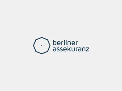 Berliner Assekuranz berlin insurance umbrella logo branding levogrin