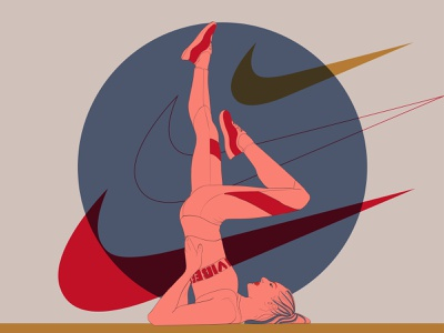 Sport vibes web art vector concepts graphic design illustrator minimal illustration flat design