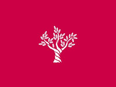Ulivo logo brand branding identity design tree