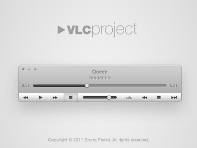 vlc project interface vlc ui