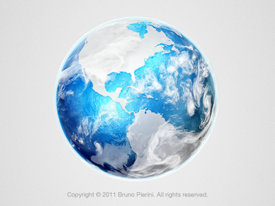 Earth icon earth browser