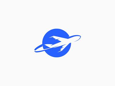 Plane Logo Design travel mark jet logo plane airline