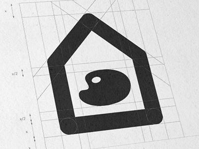 House of Artists logo house artist