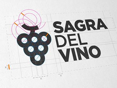 Wine Festival logo wine festival grape