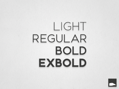 Woes Sans font sans serif light regular bold extra