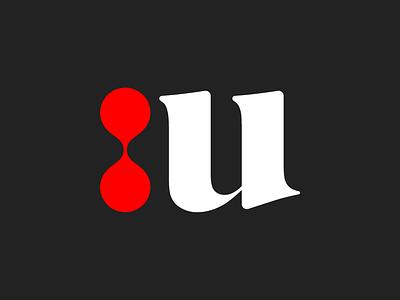 Unio brand identity design bold serif logo font