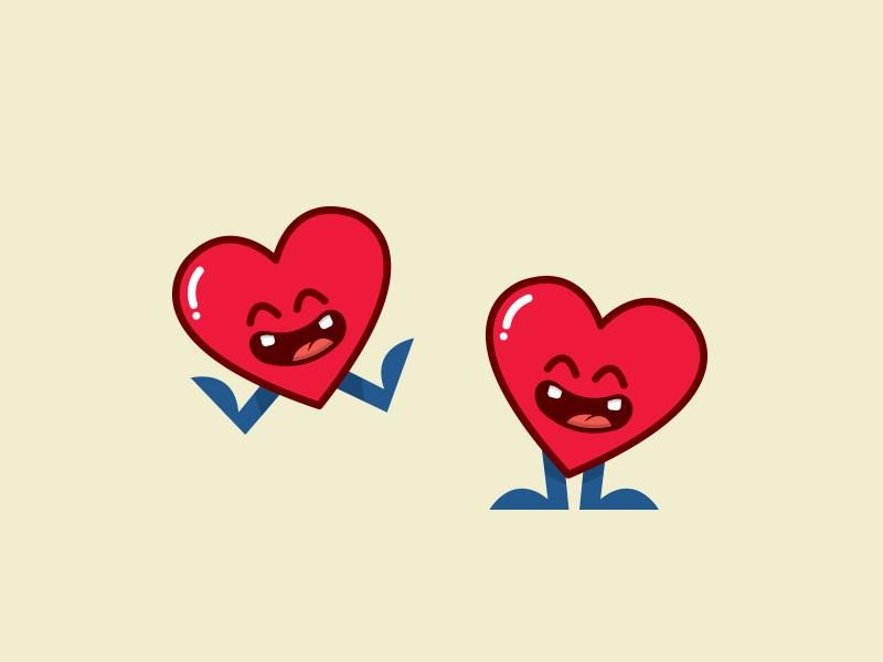 heart full of joy by mario jacome dribbble