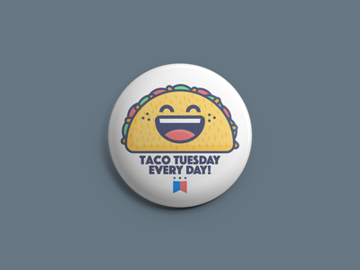 This is Mario Jacome and I approve this message! graphic design illustration food mexican food buttons taco tuesday tacos