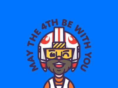 May The Fourth Be With You! avatar luke may the 4th illustration star wars