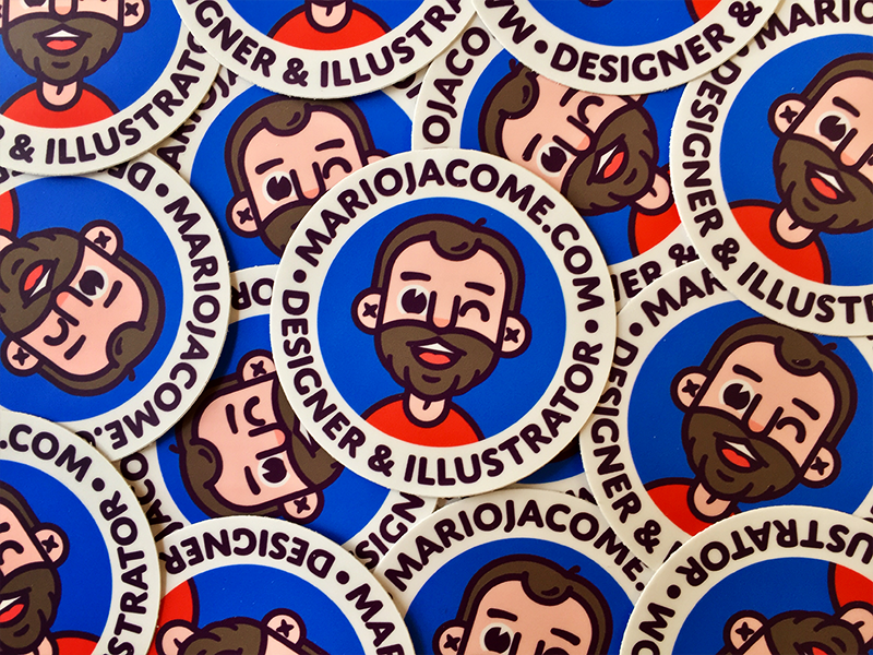 New Stickers! illustration branding avatar stickers