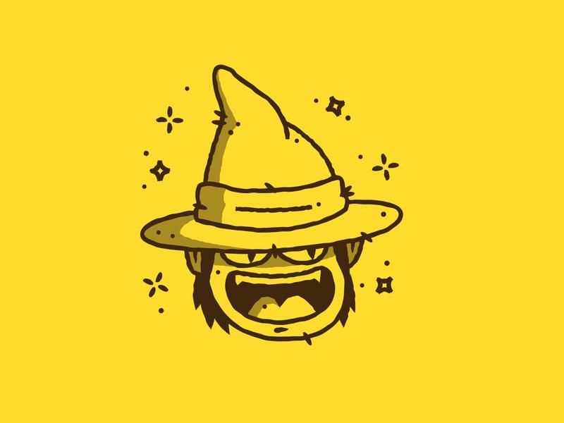 Inktober - Day 04 - Spell wizard spell magic vectober inktober design graphic design illustration