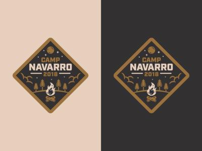 Camp Navarro Badge