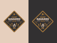 Camp Navarro Badge
