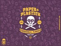 Paper+Plastick Label