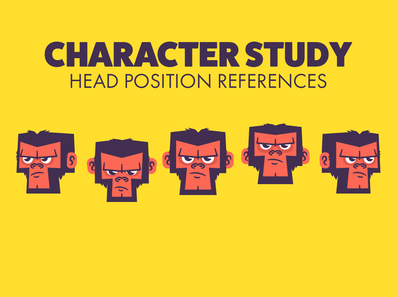Character Study Monkee animated branding character design vector animation graphic design illustration