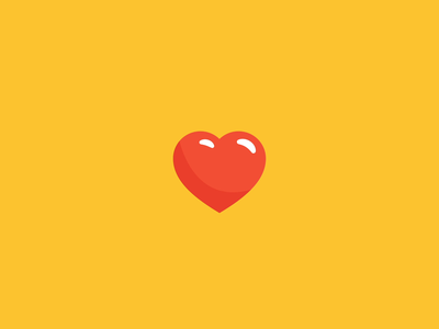 Love is the Best Currency love heart animated gif icon animation branding graphic design illustration
