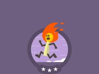 Match badge