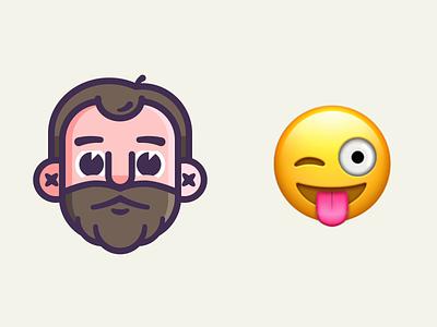 Emoji Me joysticks n sliders vector character design animated design animation branding graphic design illustration