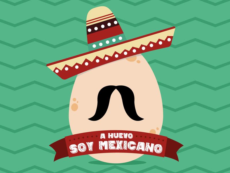 A HUEVO! diseño logo design adobe vector ilustration ilustrator