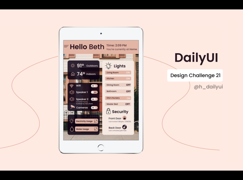 Daily UI Challenge 021