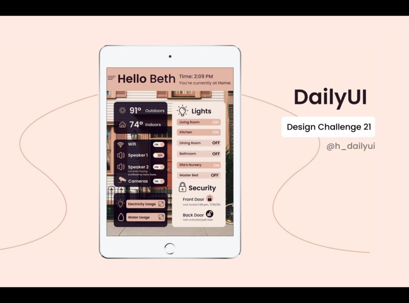 Daily UI Challenge 021