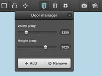 Door manager popup
