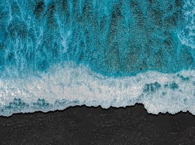 Fake Ocean design digital art sand waves photomanipulation fake ocean