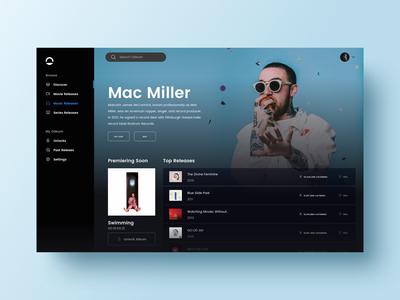 Odeum Artist Page
