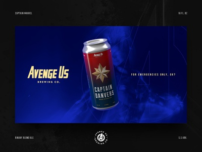 Captain Danvers Binary Blond Ale