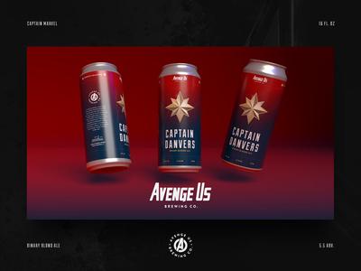 Cap Danvers Binary Blonde Ale