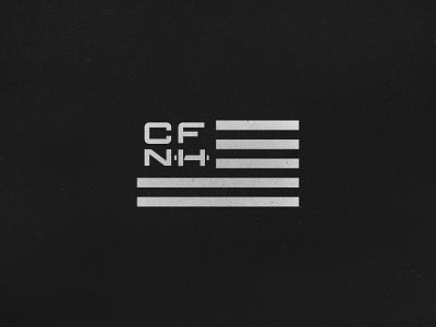 Crossfit Flag typography lettering customtype logo design gym crossfit flag symbol logo branding