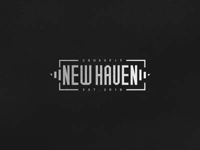 Crossfit Swag customtype new haven barbell weightlifting gym crossfit typography logo branding
