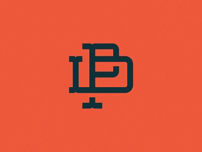 PD Gram type pd lettering monogram typography logo branding