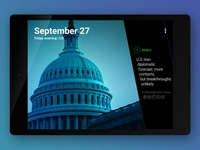 Yahoo News Digest : Android Tablet