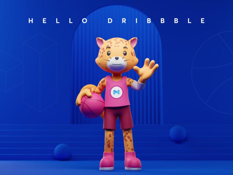 Hello Dribbble blockchain