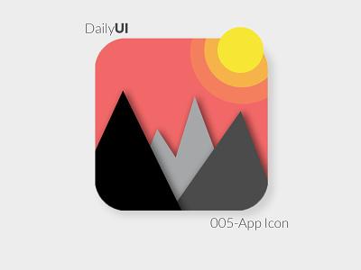 DailyUI Challenge day 5- App Icon Design dailyui 005 daily dailyuichallenge app icon app design design daily ui daily 100 dailyui daily 100 challenge app adobe photoshop ui adobe xd