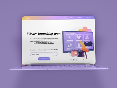Get Early Access UI Design user experience user interface webdesign website ui ux ux uiux early access figma minimal app daily ui daily 100 app design adobexd adobe photoshop daily 100 challenge ui adobe xd