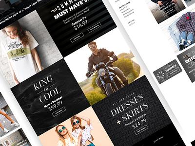 Mirror's Landing Page website ux ui design branding