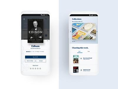 Bhuku Mobile Book App app branding ux ui design